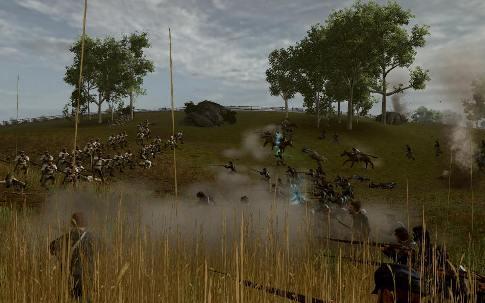 Darkest of Days civil war battle