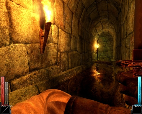 Dark Messiah tunnel