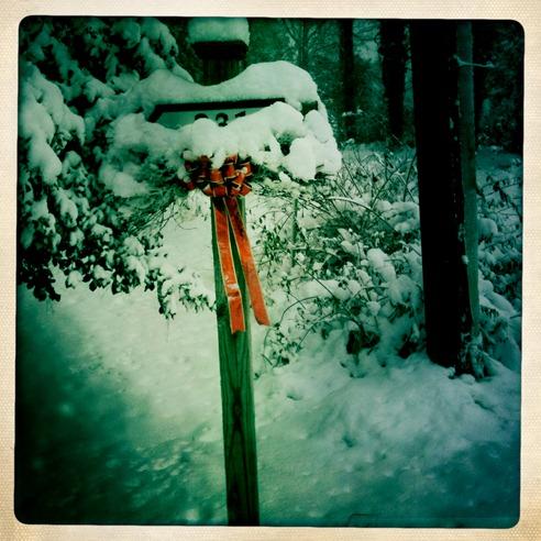 Snow ribbon